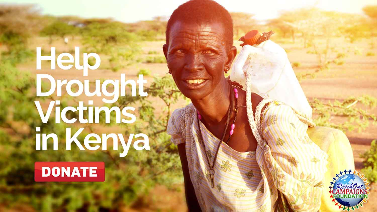 Help Drought Victims in Kenya